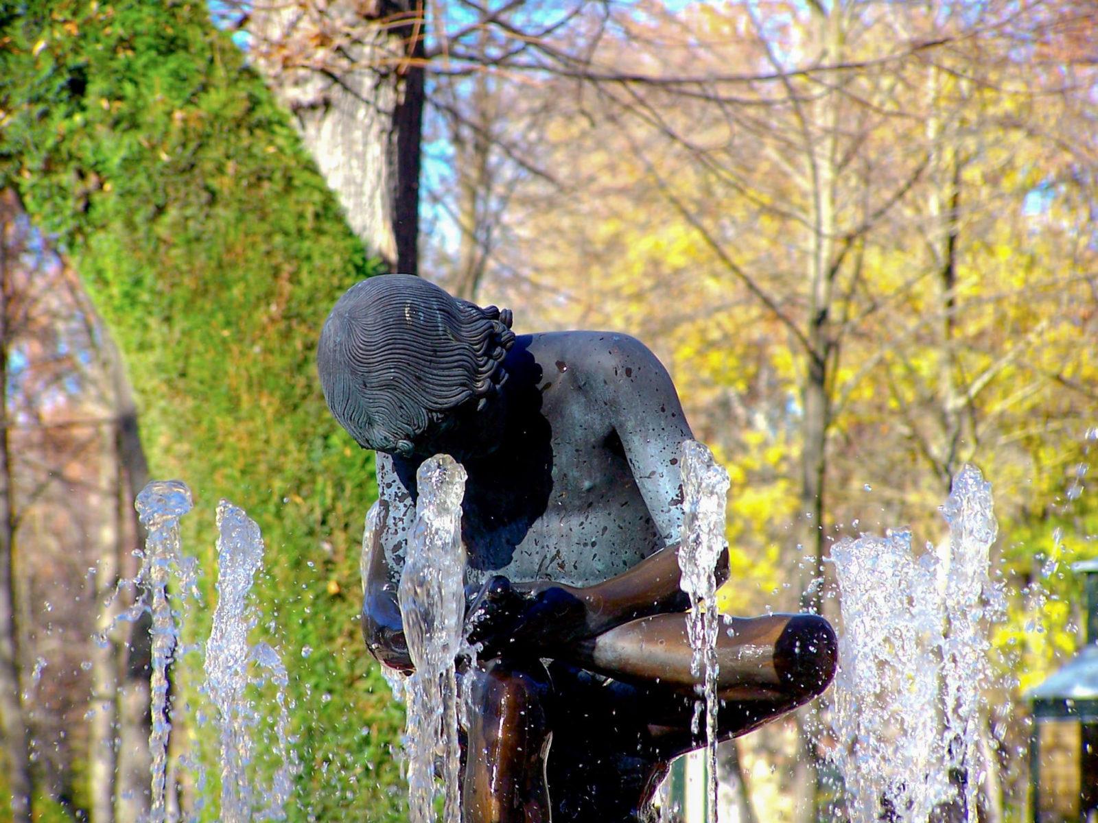 Парковая скульптура, фото Javi