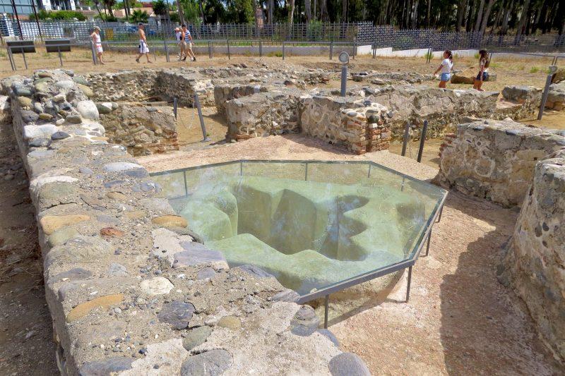Руины раннехристианской базилики Вега-дель-Мар