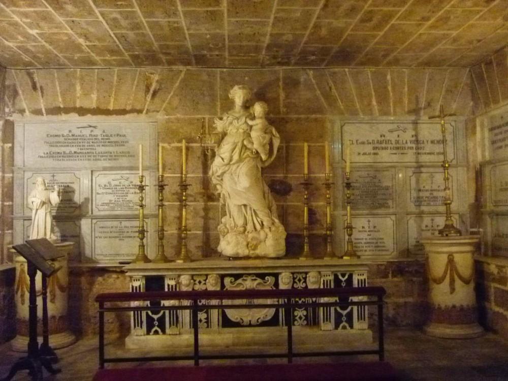 Крипта Кафедрального собор Кадиса (фото: Alejandro)