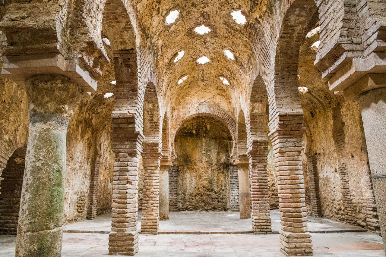 Арабские бани в Ронде