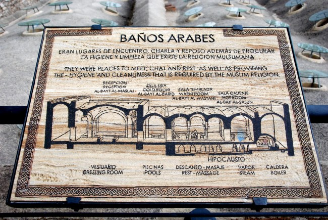 Арабские бани (Baños Árabes)