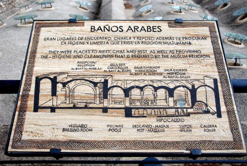 План Арабских бань (Baños Árabes) (фото: Patrick)