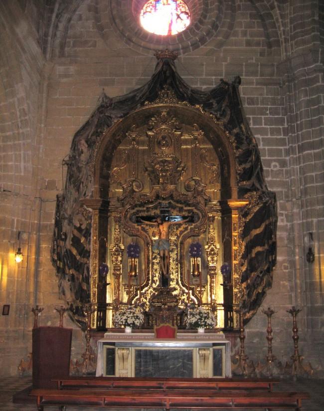 Cristo de la Viga - распятие начала XV века