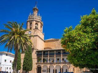 Санта Мария ла Майор — главная церковь Ронды