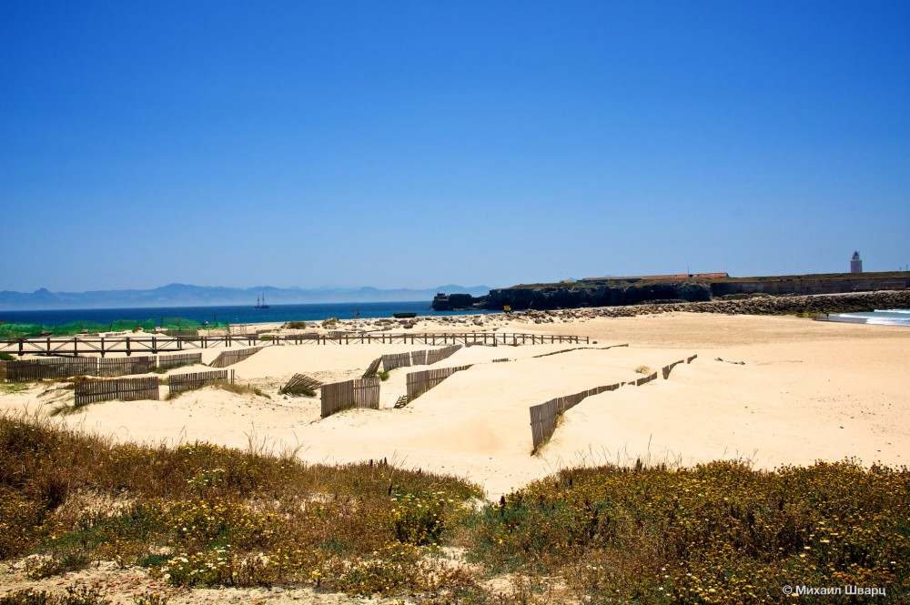 Чтобы песок не раздувало