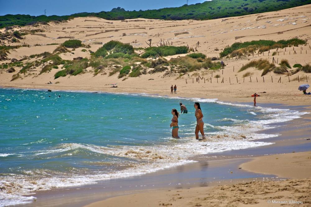 Дюны и океан