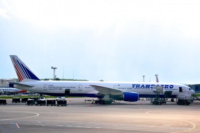 Самолет Transaero EI-UNL