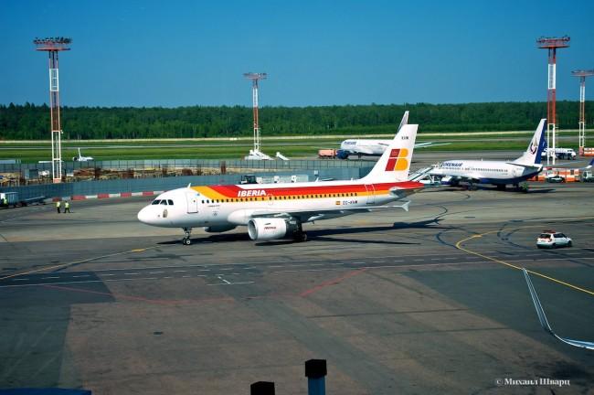 Самолет Iberia EC-KHM
