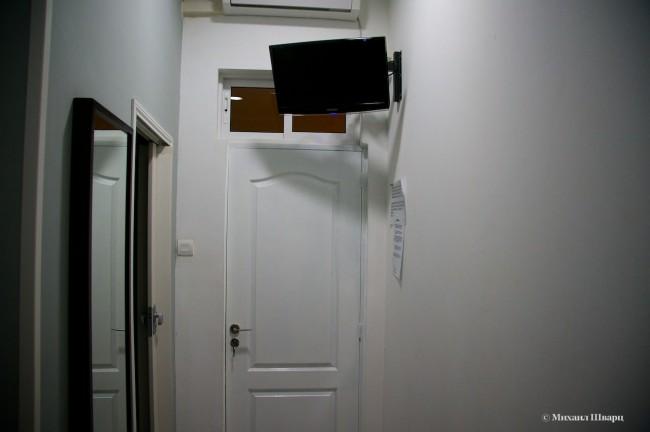 В номере нет окна