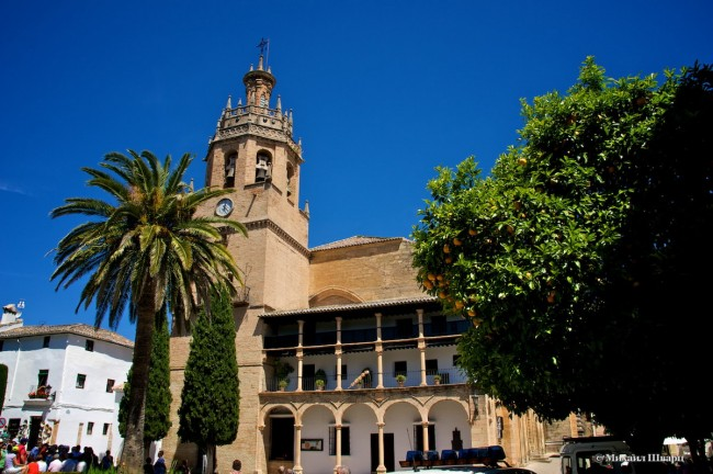 Церковь Санта Мария ла Майор (Iglesia de Santa Maria la Mayor)