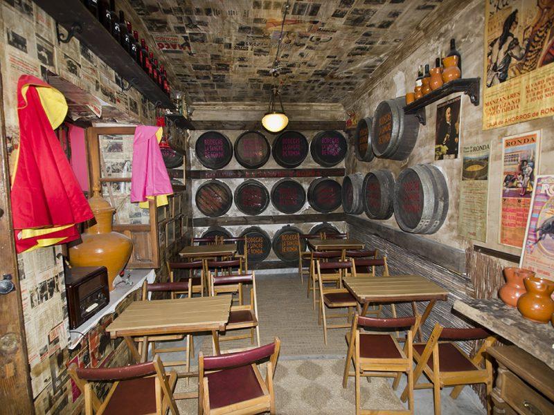 В музее вина