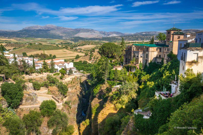 Вид на Дом короля мавров