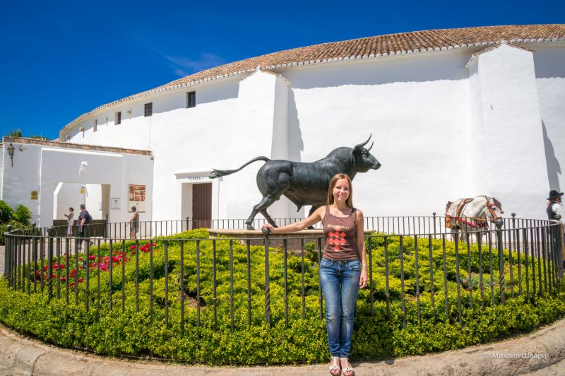 Скульптура быка (Toro de Ronda)