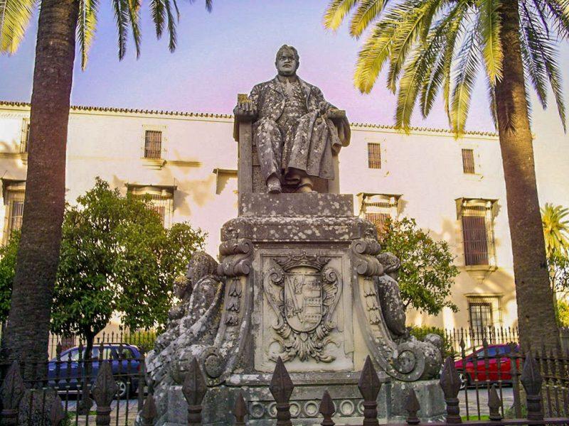 Памятник Marqués de Casa Domecq