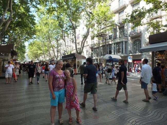 Бульвар Рамбла Барселона