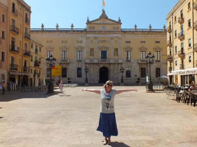 Площадь в старом городе Таррагона