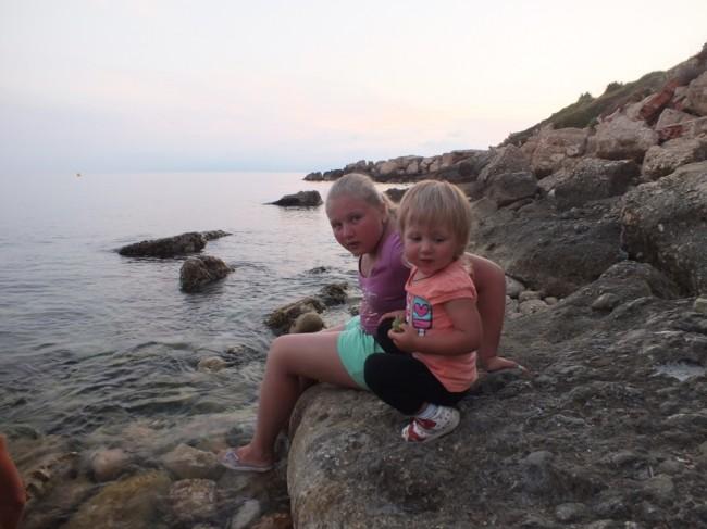 Вечер на берегу моря