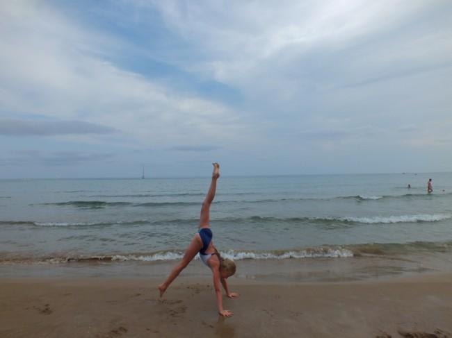 Пляж в Кап Салоу