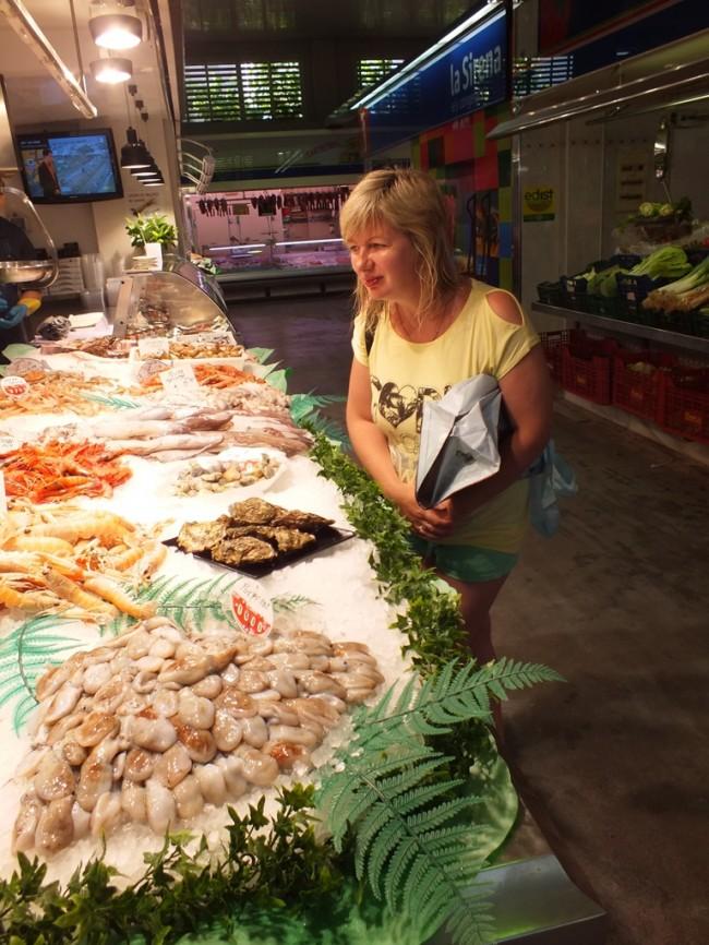 Рынок в Салоу