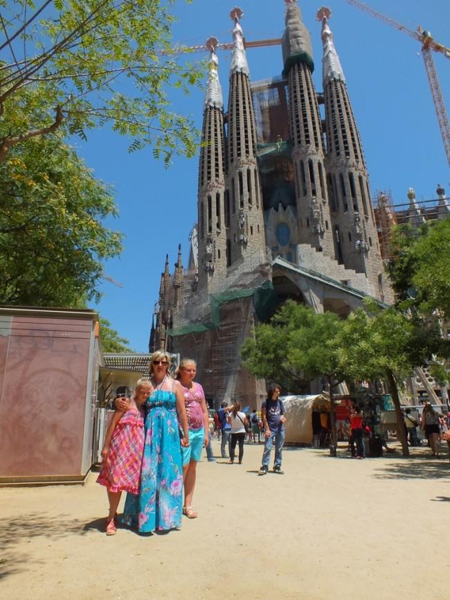 Собор Заграда Фамилия Барселона