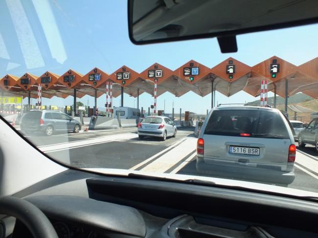 Терминал на платной дороге