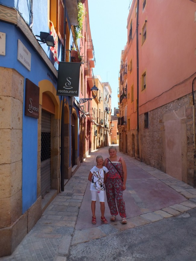 Узкие улицы Таррагоны