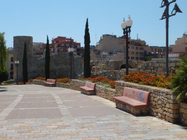Улица, ведущая Еврейский квартал Таррагона