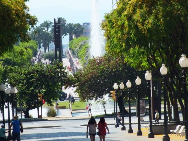 Бульвар Новая Рамбла в Таррагоне