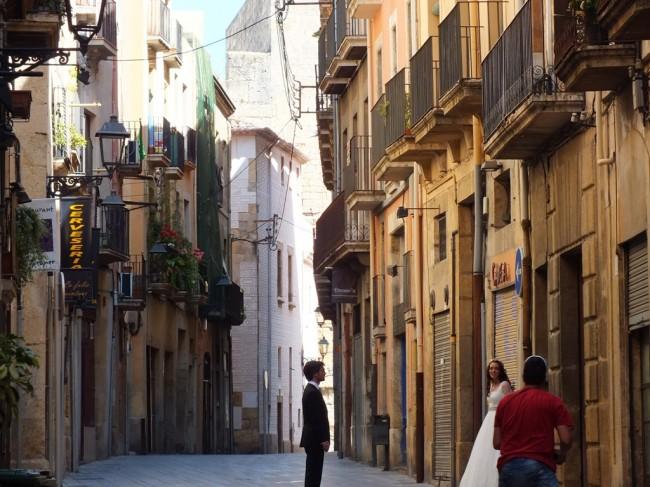 Испанская свадьба улица Таррагоны