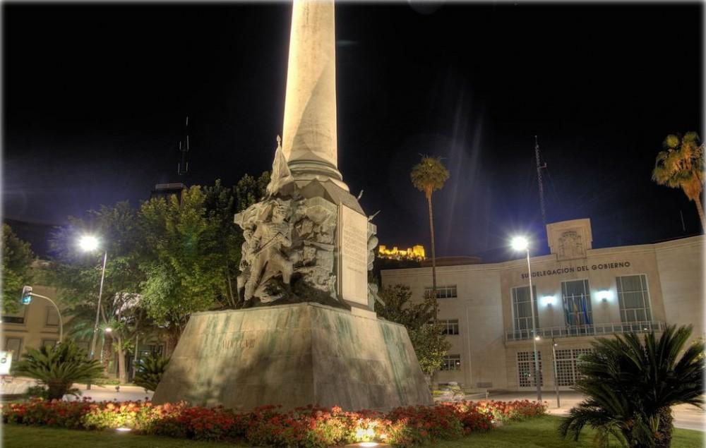 Памятник павшим в битвах при Хаэне (Monumento a las batallas de Jaén)