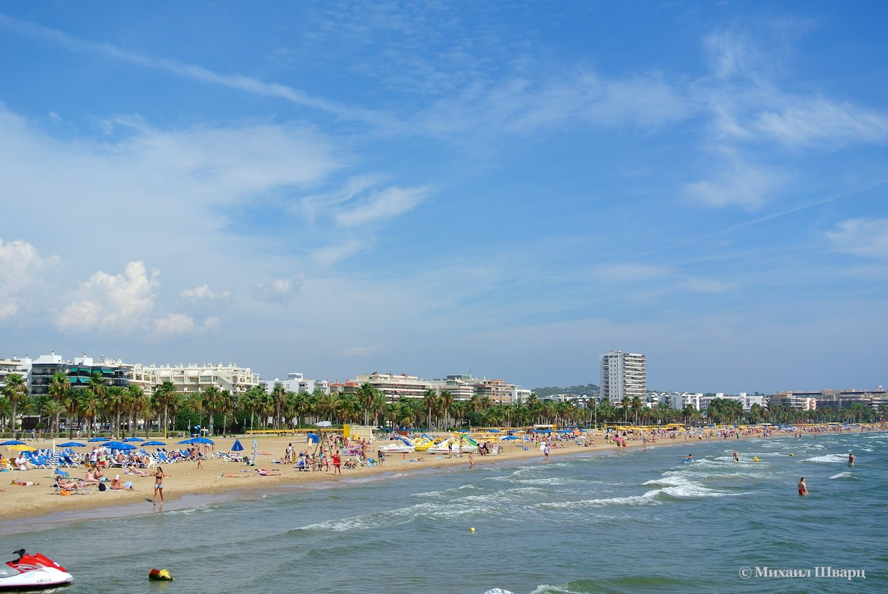 Центральный пляж салоу фото