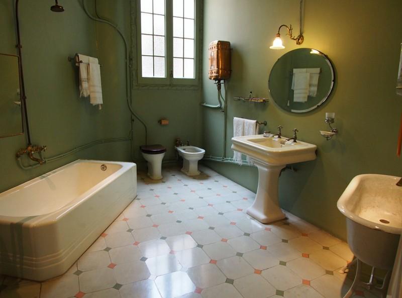 Ванная комната в доме Ла-Педрера