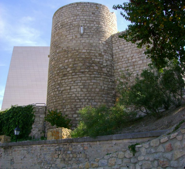 Torreón cilíndrico