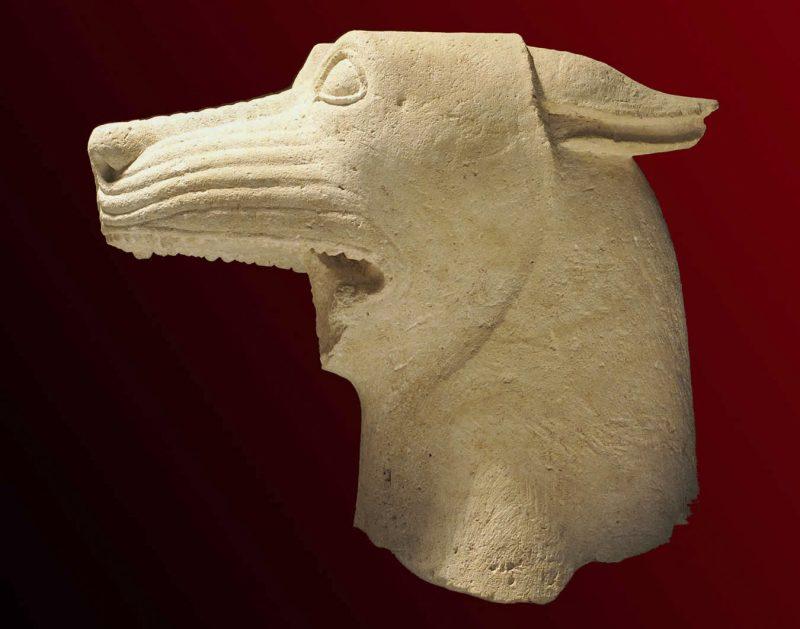 Голова волка, первая половина IV в. до н.э.