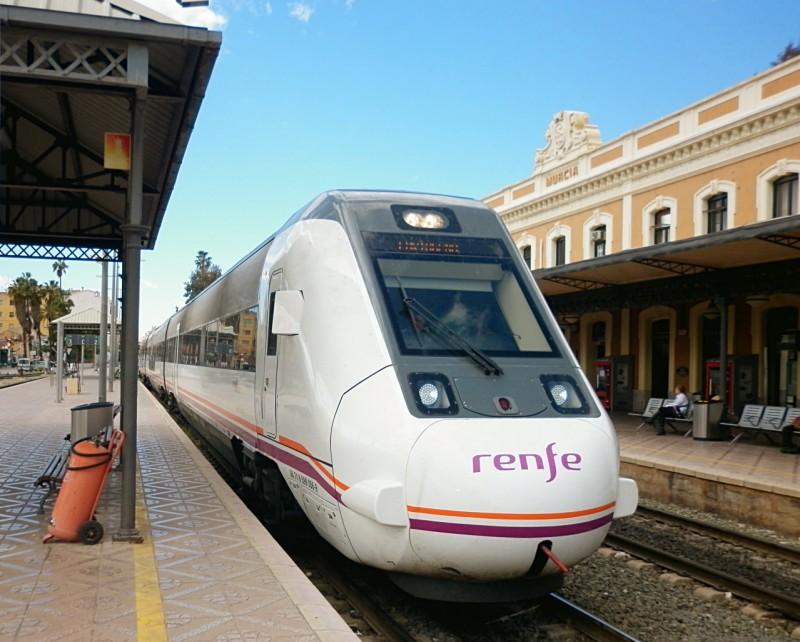 Ж/д станция Murcia