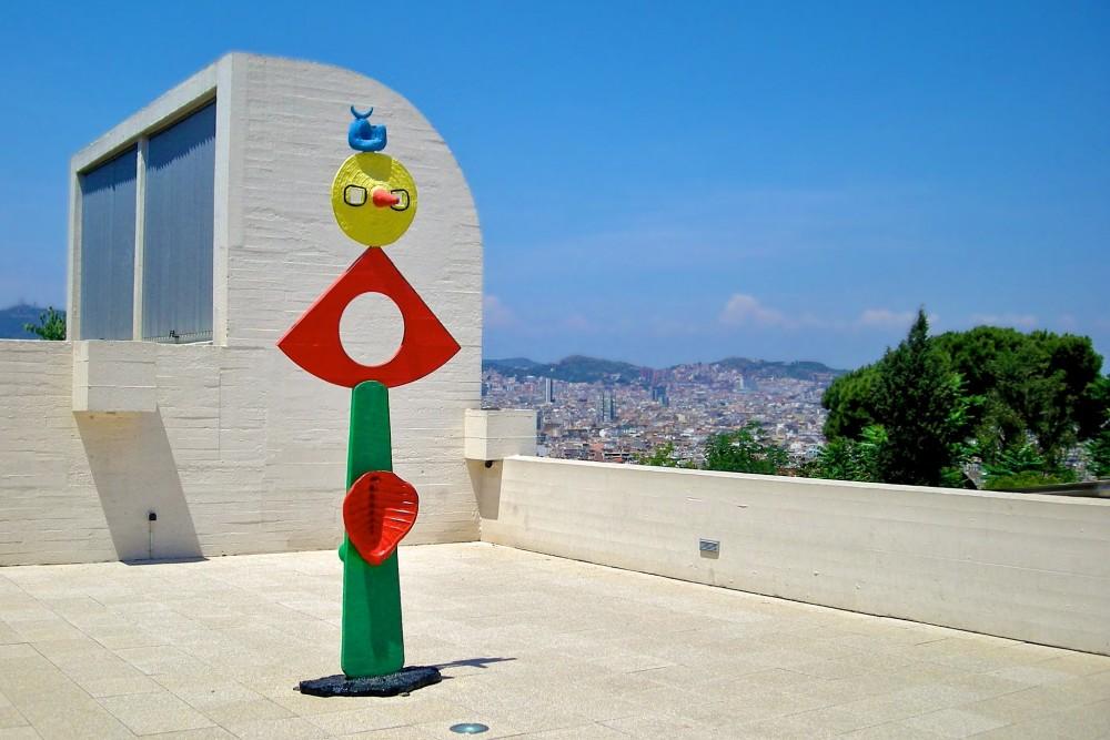 Ласки птицы, 1967 – скульптура на террасе (фото: malouette)