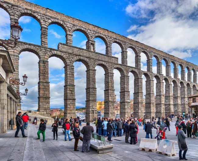 Акведук в Сеговии (Acueducto de Segovia)