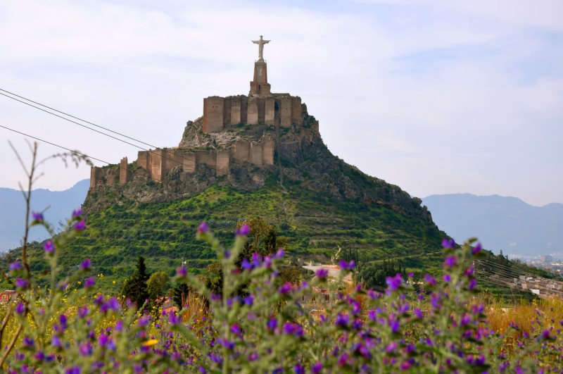 Замок Монтеагудо (Castillo de Monteagudo)