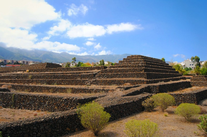 Каменные пирамиды (Pirámides de Güímar)