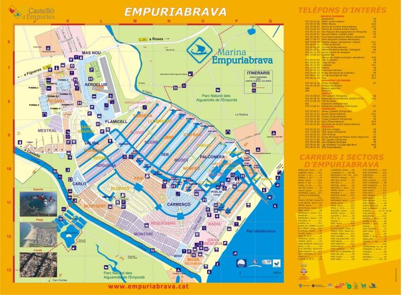 Карта Эмпуриабравы
