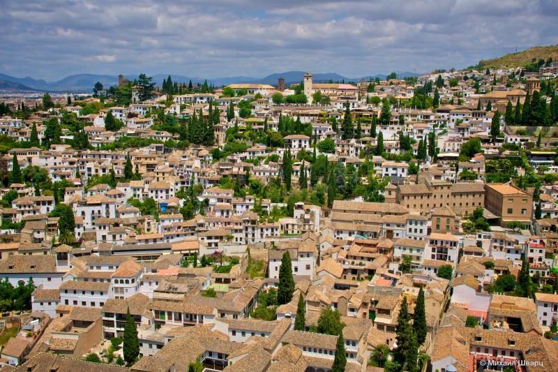 Альбайсин (Albaicín) – белый квартал Гранады