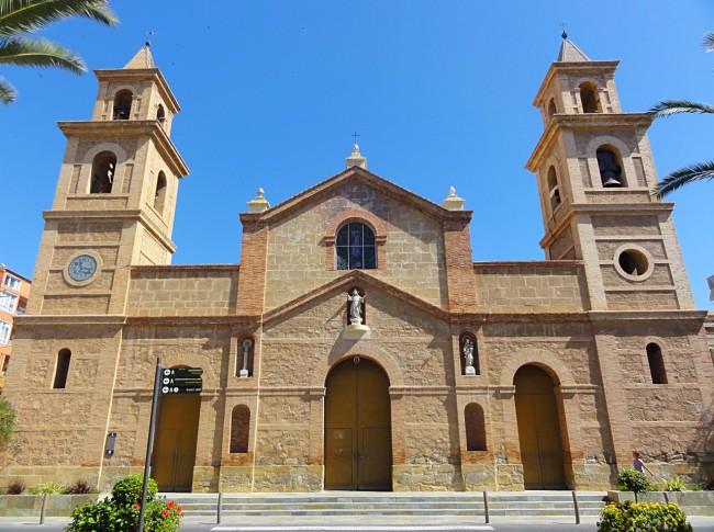 Церквовь Непорочного Зачатия (Iglesia Arciprestal de la Inmaculada Concepción)