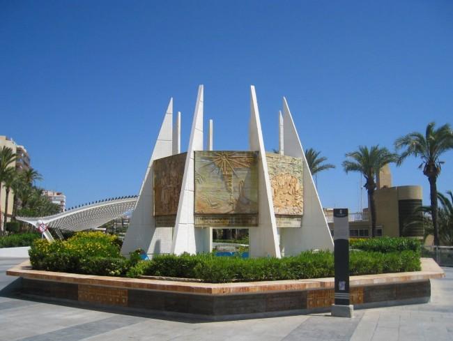 Памятник Хабанера (Мonumento a las Habaneras)