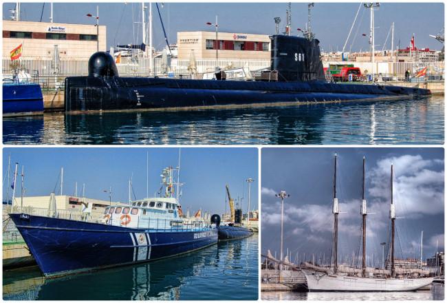 Три плавучих музея Торревьехи