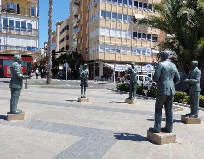 Памятник музыкантам Торревьехи (Monumento Homenaje a los Músicos Torrevejenses)