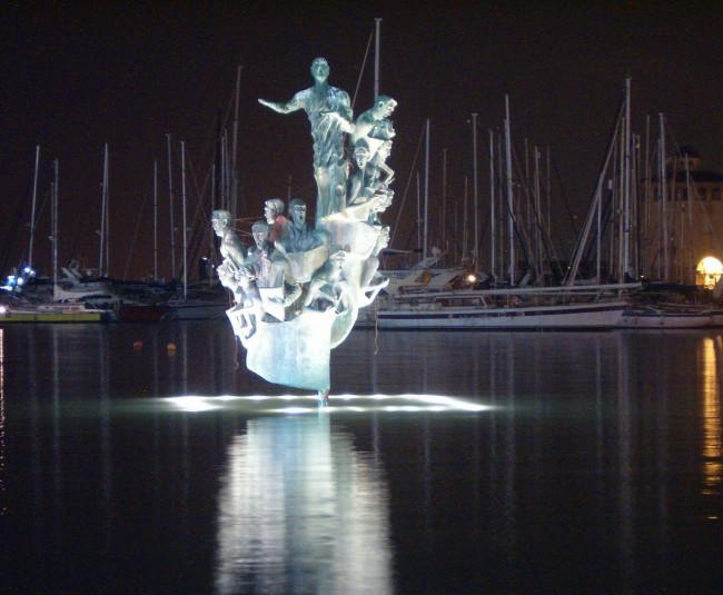 Скульптура традиционного хорового пения Хабанера (Escultura tradicióon del canto coral y a la habanera)