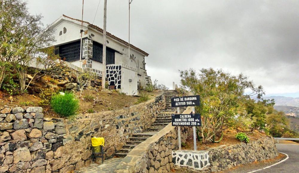 Вершина Pico de Bandama (фото: Talavan)