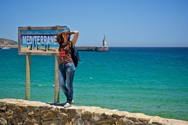 Выход в Средиземное море через Гибралтарский пролив
