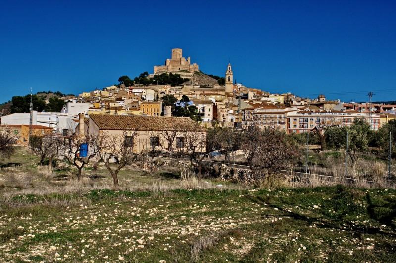 Город Biar и его замок