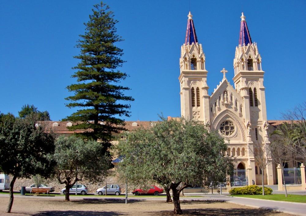 Школа Пресвятого Сердца Иисуса (Esclavas Sagrado Corazón de Jesús) (фото: Viatjant)